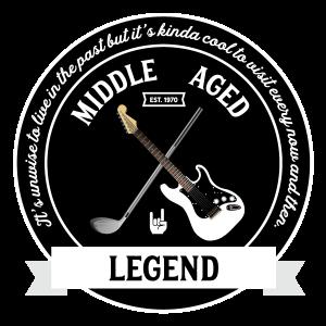 Middle Aged Legend Logo